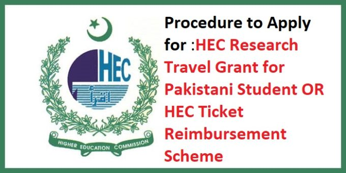 HEC Travel Grant for Doctorate Students