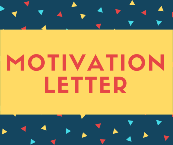How To Write A Motivation Letter 2020 Updated