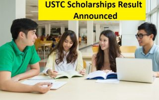 USTC Scholarships Result 2019 Announced