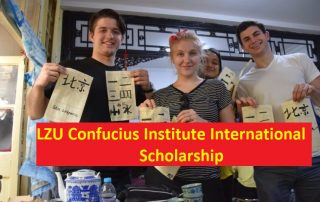 LZU Confucius Institute International Scholarship